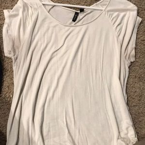 Women's White Relativity Top